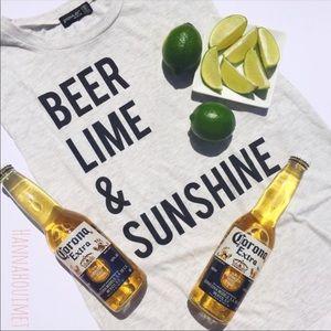 Tops - Beer, Lime, & Sunshine Tank